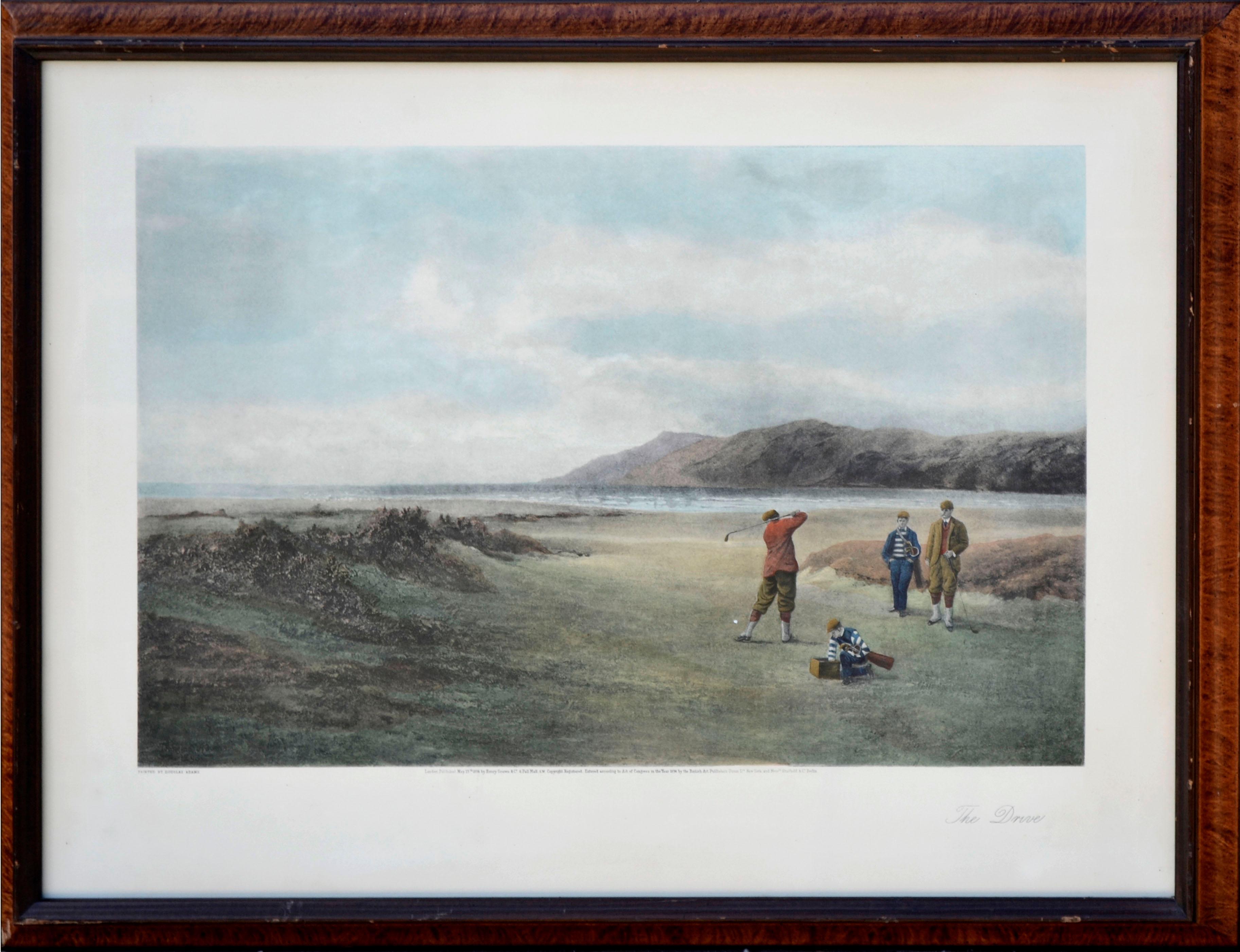 """The Drive"" - Figurative Golfing Landscape"