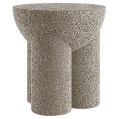 Douglas Contemporary Stool in Fabric by Artefatto Design Studio