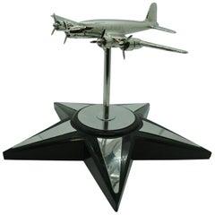 Douglas DC4 Airplane Desk Model, 1940s
