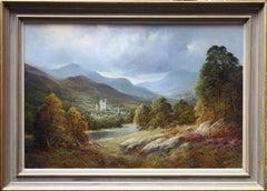 Balmoral - British art landscape oil painting Queen's estate Scottish highlands