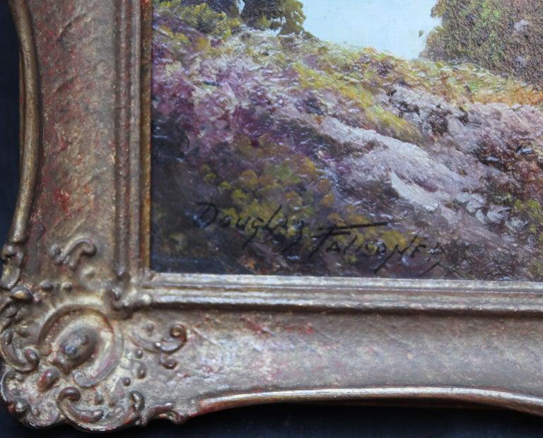 Loch Lubenig - British sixties art oil painting Scottish loch highlands Scotland For Sale 3