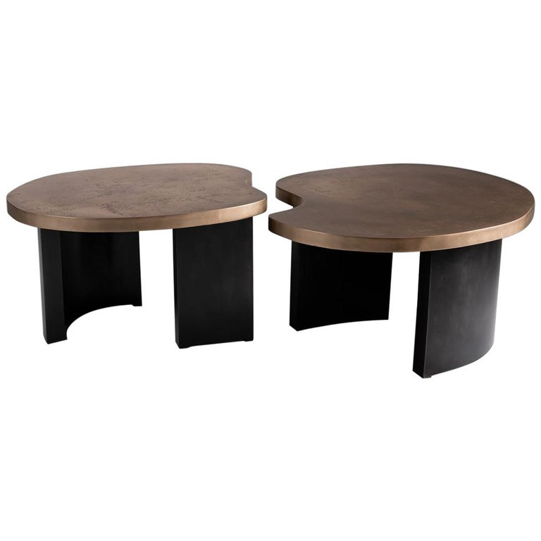 Douglas Fanning Bean coffee table, 2019, offered by Maison Gerard