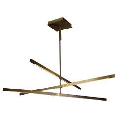 Douglas Fanning, Mobile 3 Tier, Contemporary Brass Ceiling Light, US, 2020