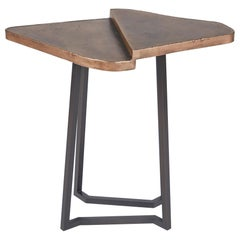 Douglas Fanning, Triangles, Two-Tiered Cocktail Table, United States, 2020