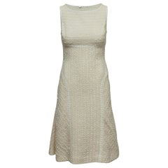 Douglas Hannant White Tweed Dress & Jacket Set