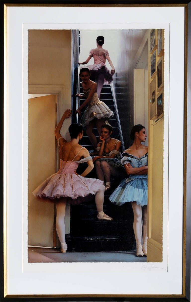 Douglas Hoffman Figurative Print - Ballerinas