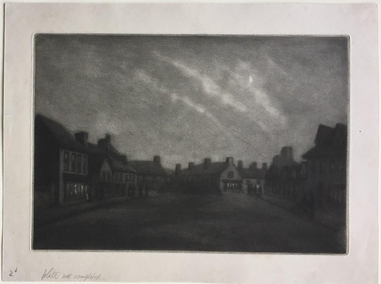 Moonlight, Rye - Print by Douglas Ion Smart, R.E.