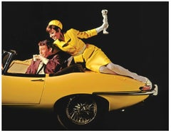 Audrey Hepburn and Peter O'Toole, on Yellow Car