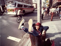 Carrie Fisher, Manhattan 1980