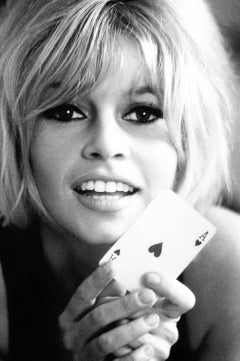 Douglas Kirkland 'Brigitte Bardot, Ace Of Hearts'