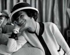 Douglas Kirkland 'Coco Chanel Smiling'