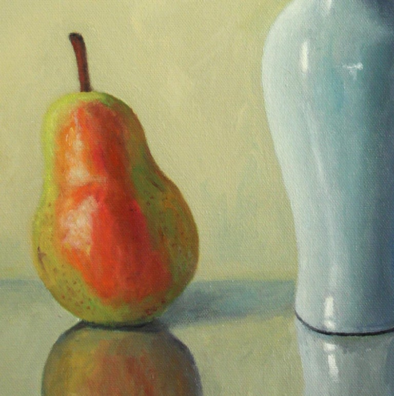 Pear with Andromeda - Painting by Douglas Newton