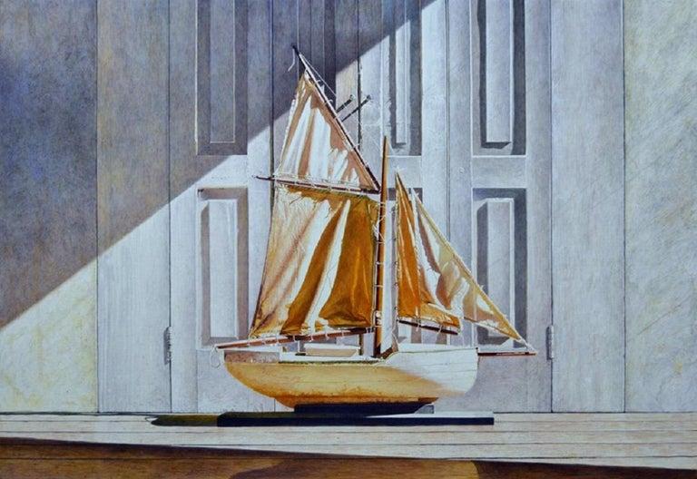 Douglas Wiltraut Still-Life Painting - Great White