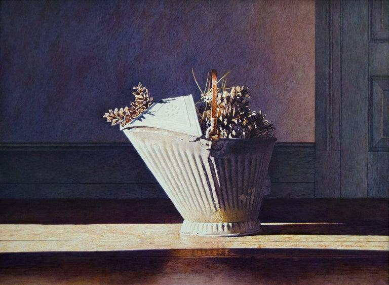 Douglas Wiltraut Still-Life Painting - Scuttle Bucket