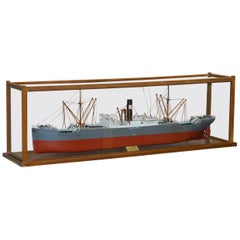 Douglass Owen Model 1914-1933 S.S Saxilby Ropner Shipping Cargo Ship Liner Boat