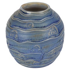 Doulton Lambeth Art Pottery Vase by Vera Huggins, circa 1935