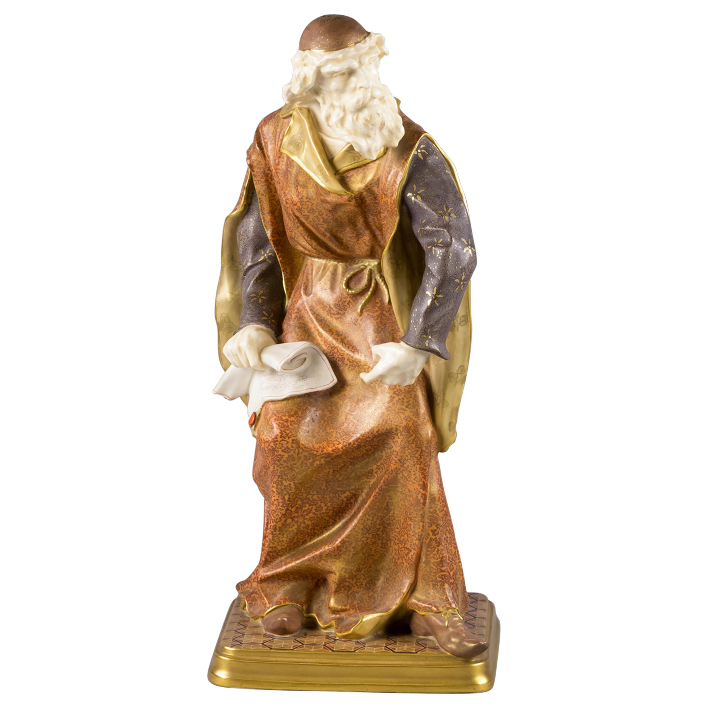 Doulton Burslem Figure of Shylock, circa 1890