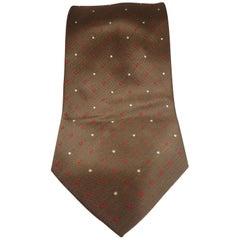 Dove Grey pois tie