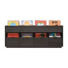 Dovetail Vinyl Storage Cabinet, in Stock