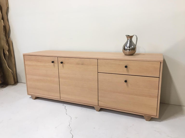 Modern Dovetail Credenza in Vertical Grain Douglas Fir by Studio Moe For Sale