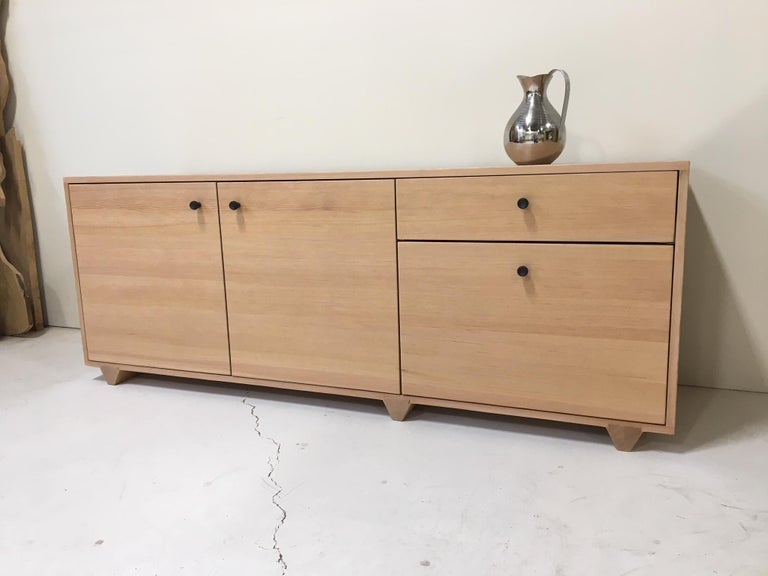 Contemporary Dovetail Credenza in Vertical Grain Douglas Fir by Studio Moe For Sale