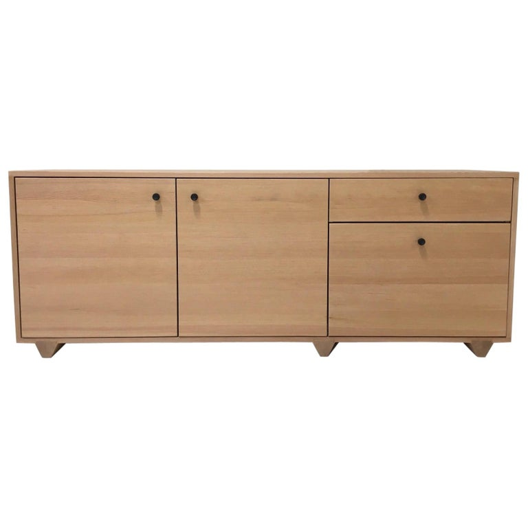 Dovetail Credenza in Vertical Grain Douglas Fir by Studio Moe For Sale