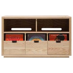 Dovetail for Sonos Vinyl Storage Cabinet 3 x 1.5 with Equipment Shelf