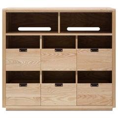 Dovetail for Sonos Vinyl Storage Cabinet 3 x 2.5 with Equipment Shelf