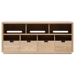 Dovetail for Sonos Vinyl Storage Cabinet 4 x 1.5 with Equipment Shelf