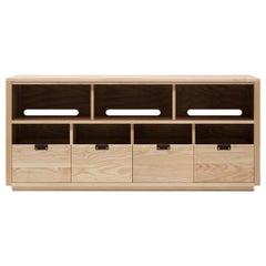 Dovetail for Sonos Vinyl Storage Cabinet 4 x 1.5 with Equipment Shelf