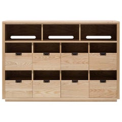 Dovetail for Sonos Vinyl Storage Cabinet 4 x 2.5 with Equipment Shelf