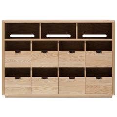Dovetail for Sonos Vinyl Storage Cabinet 4 x 2.5 with Equipment Shelf