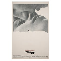 Downhill Racer 1969 US 1 Sheet Film Movie Poster, Linen Backed