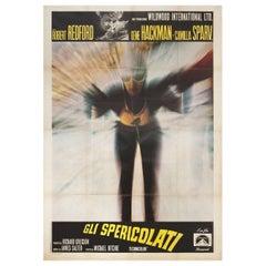 'Downhill Racer' 1970 Italian Quattro Fogli Film Poster