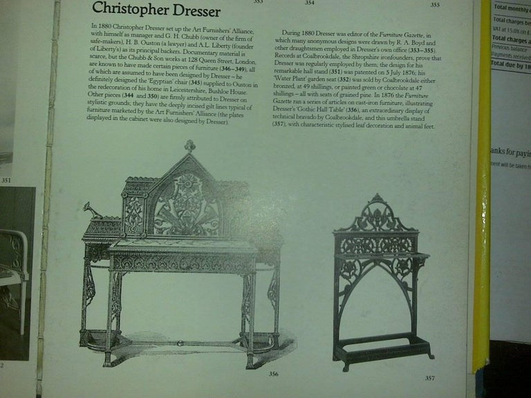 Dr C Dresser An Aesthetic Movement Cast Iron Stick Stand Made By Coalbrookdale For Sale 1