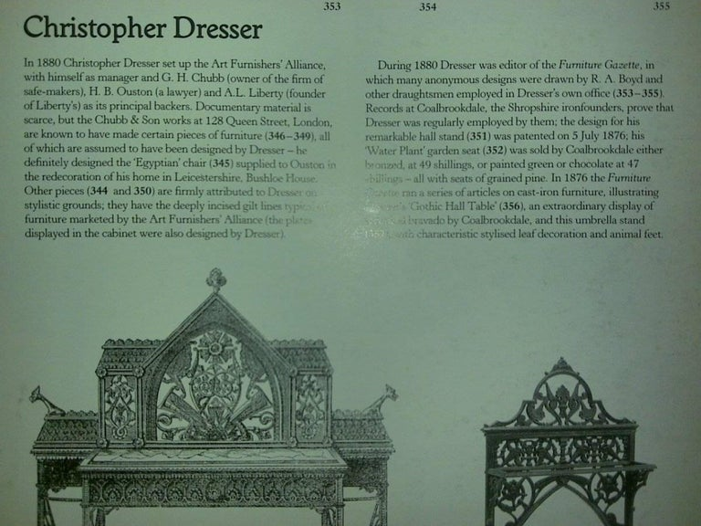Dr C Dresser An Aesthetic Movement Cast Iron Stick Stand Made By Coalbrookdale For Sale 2