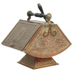 Dr C Dresser, Benham & Froud an Aesthetic Movement Arts & Crafts Copper Coal Box