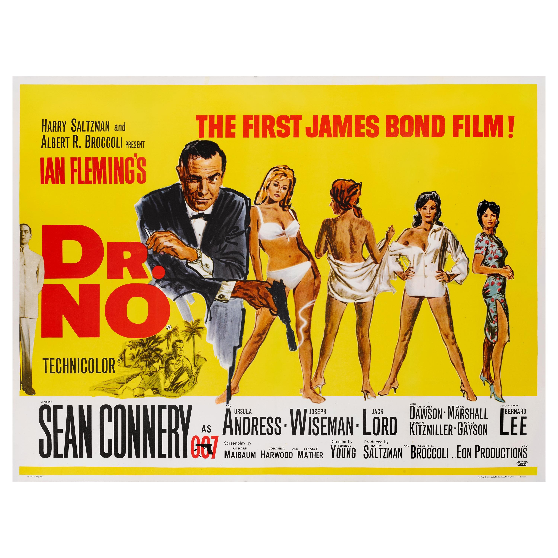 """Dr. No"" Film Poster"