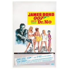Dr. No R1970s Belgian Film Poster