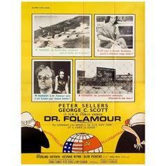 """Dr. Strangelove"" 1964 French Grande Film Poster"