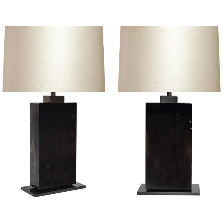DRA Rock Crystal Lamps by Phoenix For Sale