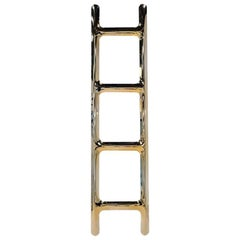 Drab Hanger in Gold Stainless Steel, Heat Collection, Zieta