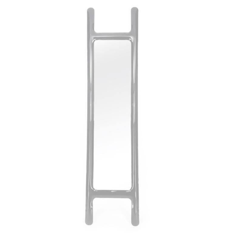 Drab Mirror by Zieta Prozessdesign, Black Steel In New Condition For Sale In Paris, FR