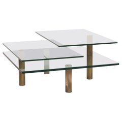 Draenert Imperial Glass Coffee Table Incl. Function