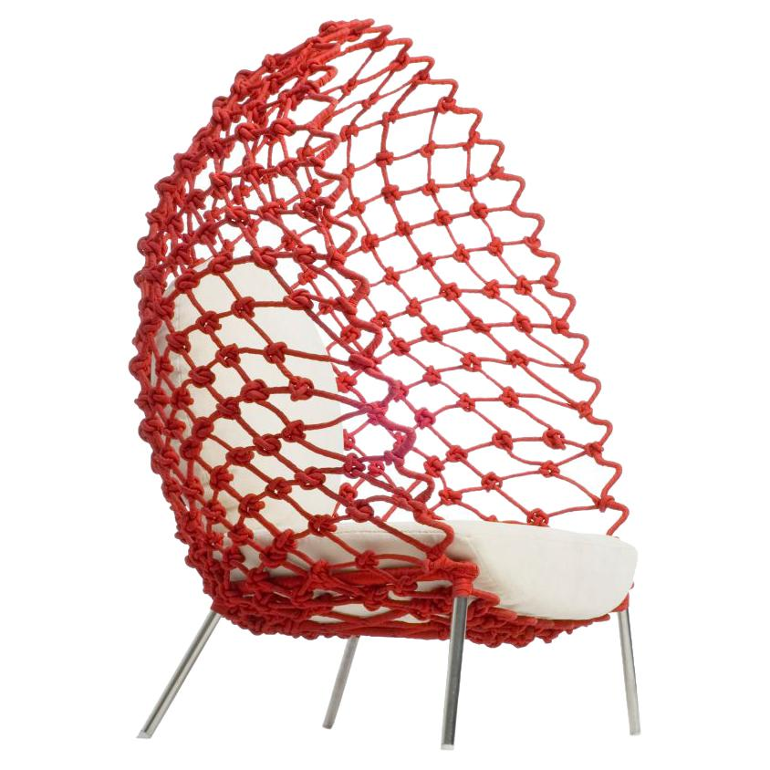 Dragnet Lounge Chair Indoor by Kenneth Cobonpue