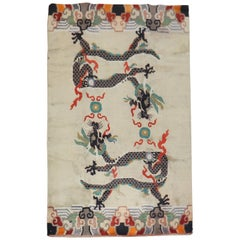 Dragon Tibetan Vintage Rug