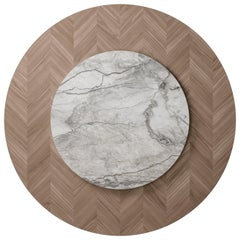 D620/D621 Dragonfly Round dining table with Lazy Susan