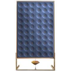 Drake Blue Cabinet by Giuliano Cappelletti and Kyoji Nagatani