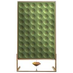 Drake Green Cabinet by Giuliano Cappelletti and Kyoji Nagatani