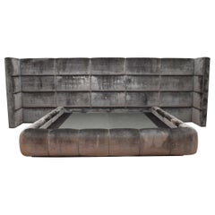 Dramatic Custom King Bed Frame from Beverly Hills Estate